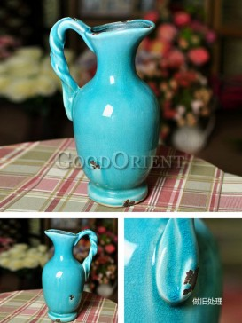 Vintage European style vase of home decoration
