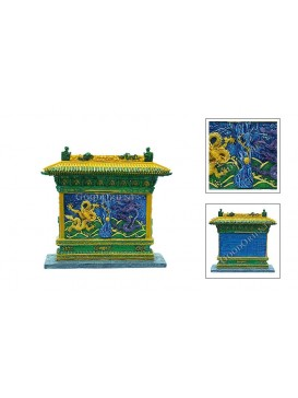 Chinese Miniature Arts---Colorized Dragon Wall