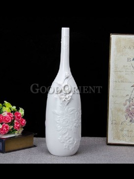 Handcrafted vase of interior design