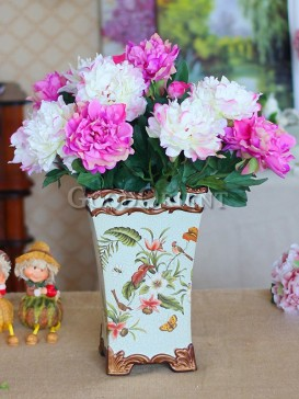 Home decor of vintage European style vase