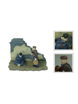 Chinese Miniature Arts---Beggar and Bellman