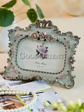 Rococo Style Rose Decoration Picture Frame