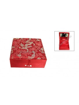 Red Dragon Jewelry Box---Square