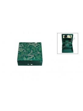 Green Dragon Jewelry Box---Square