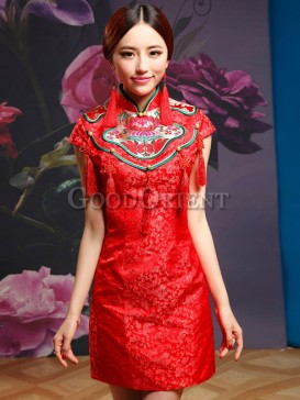 Unique Chinese Knot Design Women Dress