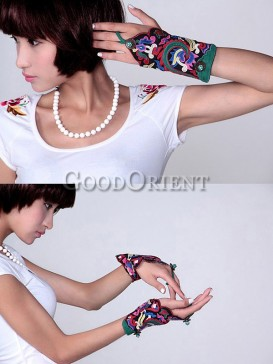 Fashion bracelet with peacock designs