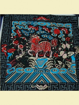 Chinese folk art of mouse pad--Kylin pattern