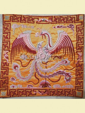 Fantastic phoenix design of mouse pad