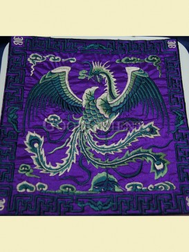 Classical phoenix design of mouse pad