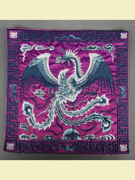 Honor embroidery mouse pad--Phoenix pattern