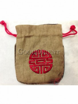 Traditional design coin bag