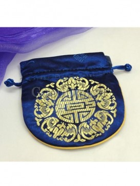 Brilliant Chinese pattern coin bag