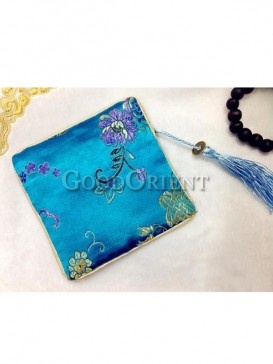 Classic flower pattern of coin bag