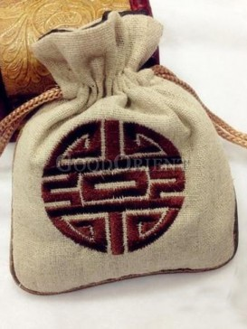 Beautiful orient style coin bag