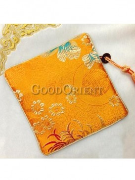 Charming flower pattern of coin bag