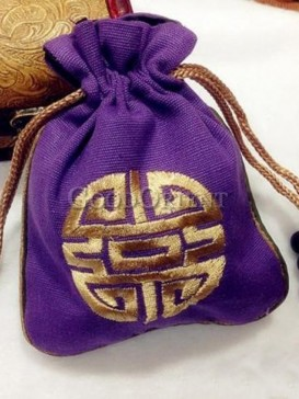 Nobleness orient style of coin bag