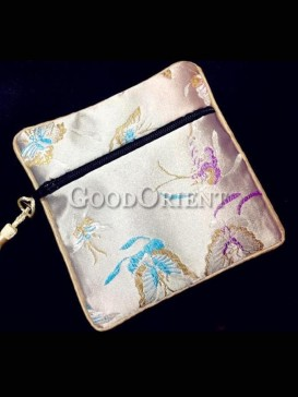Floral pattern coin bag