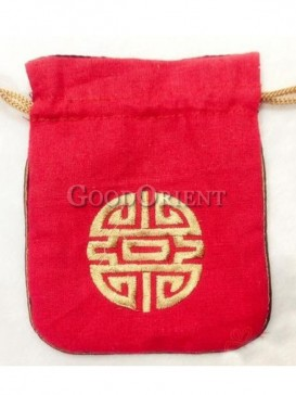 Handcraft embroidery coin bag