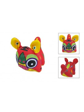 Chinese Tiger Patchwork Toy---Red