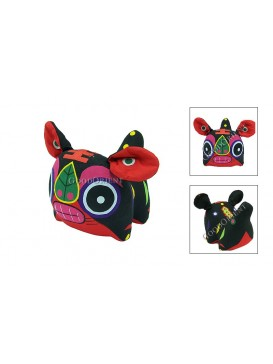 Chinese Tiger Patchwork Toy---Black