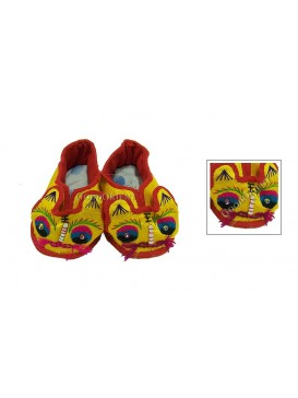 Hard Sole Tiger Shoes---Yellow