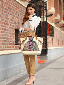 Fashionable trend leather bag