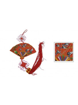 Hand Embroidered Hanging---Cranes
