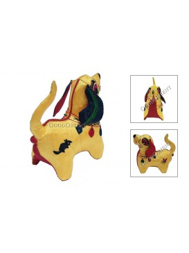 Embroidered Chinese Animals---Dog