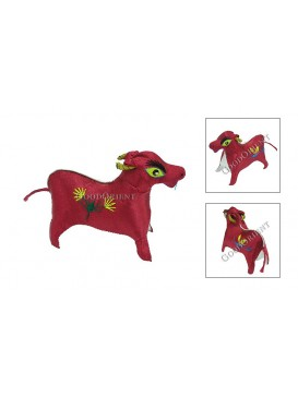 Embroidered Chinese Animals---OX
