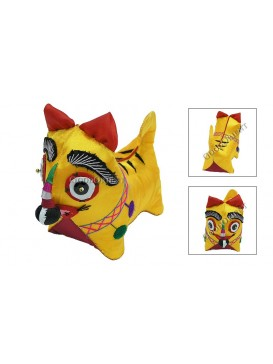 Embroidered Chinese Symbol Animals---Tiger