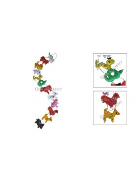 Chinese Twelve Symbol Animals Hanging---Small