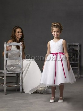 Pretty as a Picture Flower Girl Dress
