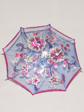 Booming floral pattern umbrella