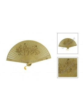 Ancient Beauty Sandalwood Fan