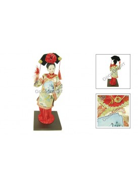 Qing Dynasty Beauty Doll---Fan