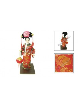 Qing Dynasty Beauty Doll---Carrying Lantern