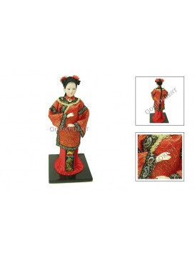 Qing Dynasty Beauty Doll---Maid of Honour