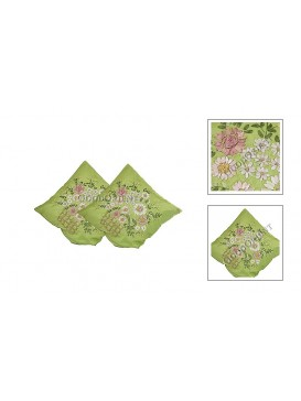 Kelly Embroidered Floral Cushion Cover