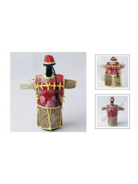Chinese Qing Dynasty Suit Bottle Holder---Beige