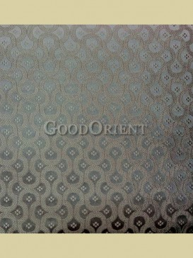 Sliver grey chain floral pattern fabric