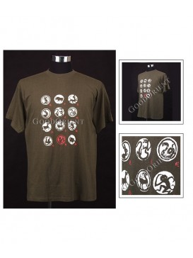 Chinese Zodiac Animals T-shirt