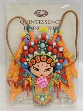 Peking opera figure refrigerator magnets series-Mu Guiying