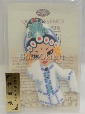 Peking opera figure refrigerator magnets series-Du Liniang