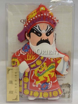 Peking opera figure refrigerator magnets series-Lian Po