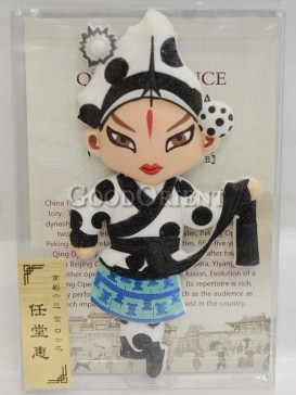 Peking opera figure refrigerator magnets series-Ren Tanghui