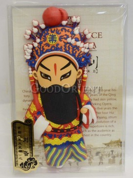 Peking opera figure refrigerator magnets series-Liu Bei