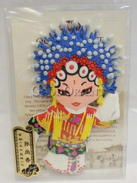 Peking opera figure refrigerator magnets series-Sun Shangxiang
