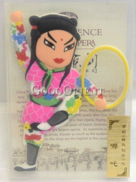 Peking opera figure refrigerator magnets series-Ne Zha
