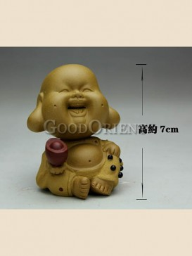 """Lucky little monk""tea pet"