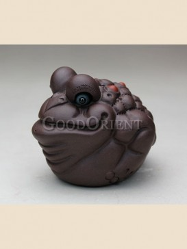 Chinese style hop toad tea pet